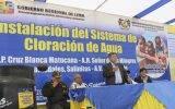 Nelson Chui inaugura sistema de cloración de recurso hídrico en distrito de Aucallama – Huaral