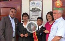 """Alcaldesa de Huaral entrega e inaugura obras  en I.E. 20403 """"Carlos Martinez Uribe"""" (Videos)"""