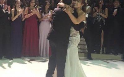 Así fue el baile de vals de Magaly Medina y Alfredo Zambrano (VIDEO)