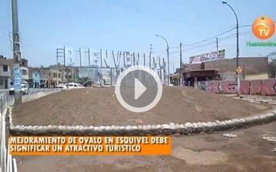 Mejoramiento de ovalo en Esquivel debe significar un atractivo turístico
