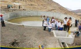 Nelson Chui inaugura moderno sistema de riego yancca elevando nivel productivo de agricultores de Viñac – Yauyos