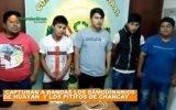 Policía de Huaral captura banda los sanguinarios  de Huayan