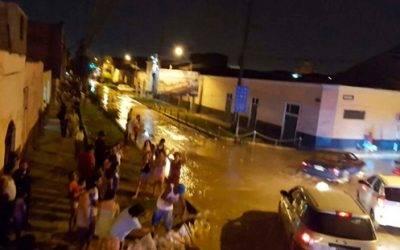 Acho también fue sorprendido por desborde del río Huaycoloro