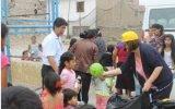 Alcaldesa Ana Kobayashi vuelve a centros poblados para alegría de niños