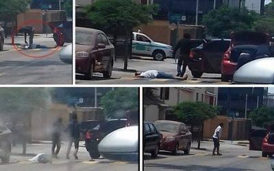 San Borja: Asaltantes arrebatan S/ 100 mil a cambista en presencia de serenazgo