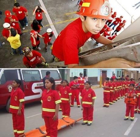 Bomberos de Huaral capacitarán a mini bomberos de 6 a 12 años de edad.