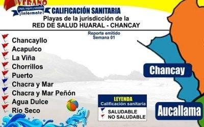 Casi ninguna playa de Chancay es saludable según la  DIGESA