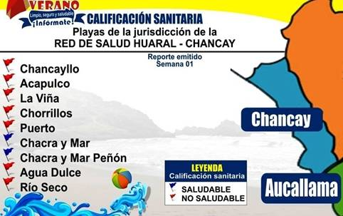 Casi ninguna playa de Chancay es saludable según la DIGESA Huaralenlinea.com