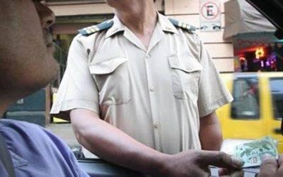 Coima a policías merecerá hasta 8 años de cárcel y la inhabilitación de conducir
