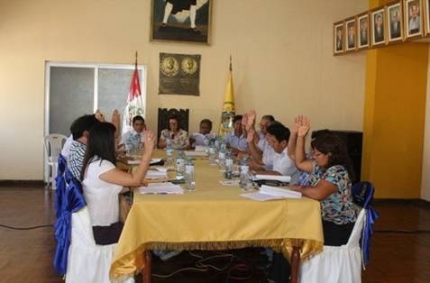 Concejo provincial de Huaral realiza primera sesión ordinaria del año 2017