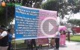 Iglesia cristiana realiza campaña de sensibilización en contra de la Unión Civil en Chancay.