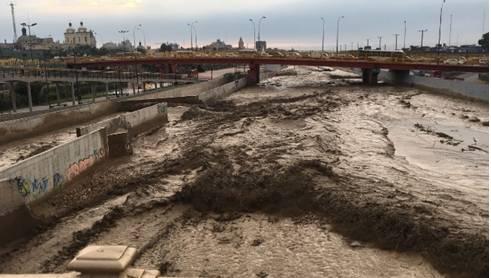 Río Huaycoloro se desbordó en Campoy