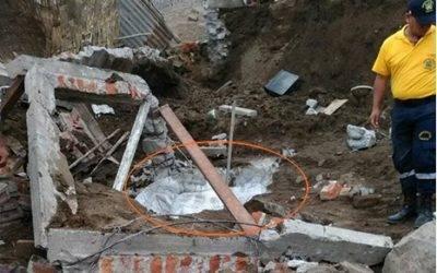 Albañil muere sepultado tras caerle una pared en Chancay