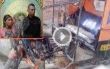 Capturan usureros colombianos que incendiaron  mototaxi de uno de sus deudores en Huaral