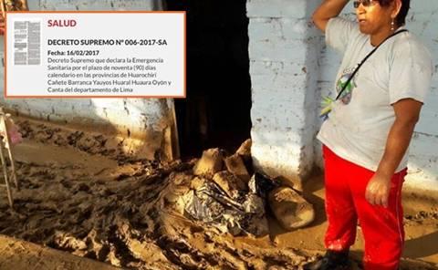 Declaran Emergencia Sanitaria en Huarochirí,Cañete, Barranca,Yauyos, Huaral,Huaura, Oyón y Canta