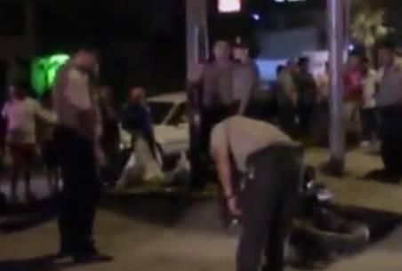 Joven motociclista murió en Panamericana Norte en Puente Piedra