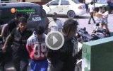 Huaral: Vecinos de San Antonio y Calcaterra cansados de robos  intentaron linchar a dos sujetos.