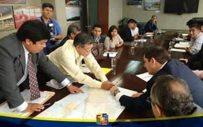 Se suscribe convenio con MTC para asfaltar vía alterna a carretera central por la zona sur de la región Lima