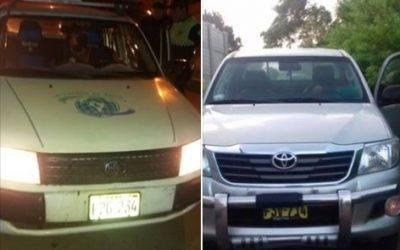Serenazgo de Huaral recupera dos vehículos robados