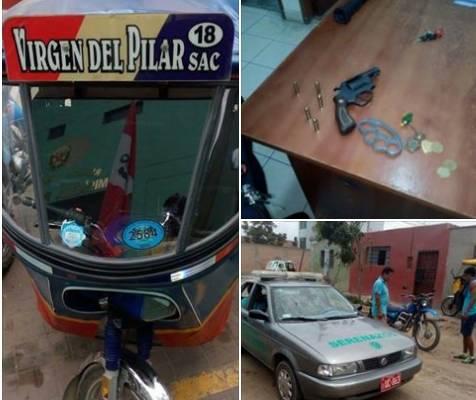 Serenazgo y vecinos frustran robo de vehículo en Huaral
