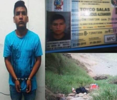 Chancay Sujeto olvido mochila con licencia de conducir tras asalto