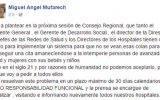 """""""Don Mufa"""" se compromete a resolver las colas en el hospital de Huaral en 30 días"""