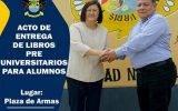 Municipalidad de Huaral y UNMSM realizarán acto público de entrega de libros pre universitario