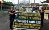 Pobladores de Jecuan y Real Perú entregan donativos para los damnificados de Huaral