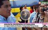 Anuncia inversión extranjera para zona alto andina de Huaura.