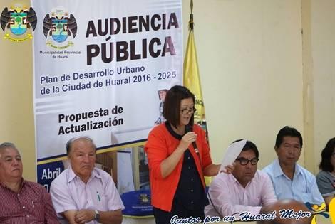 Audiencia pública se realiza con gran asistencia de vecinos huaralinos
