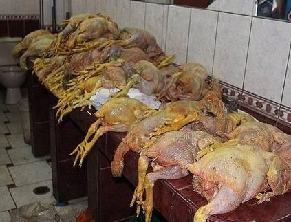 Decomisan más de 2500 pollos insalubres en el mercado de Puente Piedra