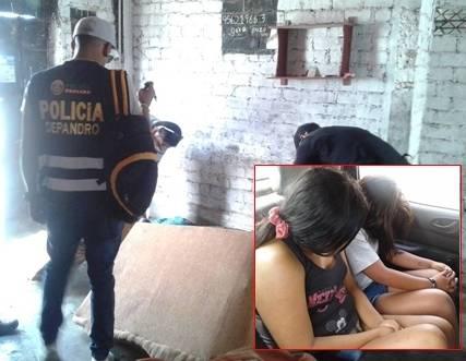 En Cañete intervienen prostíbulo clandestino con menores de edad