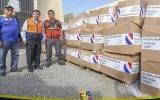 GRL recibe ocho toneladas de ayuda humanitaria de la hermana república del Paraguay