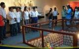 Nelson Chui recibe a medios nacionales al visitar museo municipal de Chancay en bus de la marca Perú