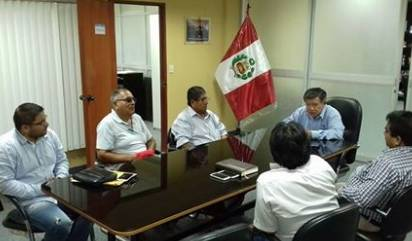 Nelson Chui se reúne con Presidente de la Junta de usuarios Chancay Huaral