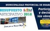 Aprueban Ordenanza Municipal para el desarrollo del Presupuesto Participativo 2018.