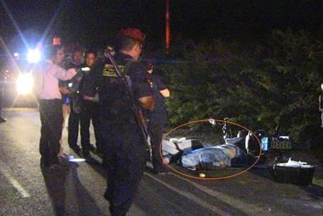 Asesinan a  balazos a pareja de prestamista   en Cañete