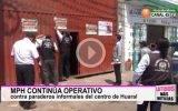 Municipalidad  sigue realizando operativos contra paraderos informales en Huaral