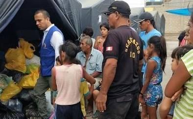 Paramonga concentra la mayoría de afectados por lluvias en Región Lima