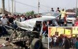Sepultan restos de joven de 18 años muerto en trágico accidente en carretera Huaral – Lima (VIDEO)