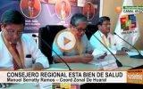 Coordinador regional de Huaral asegura que consejero Luis Casas esta bien de salud .