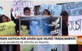 Piden justicia por joven que murió tragicamente  en la ruta Huaral – Huacho