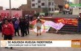 6 días de huelga indefinida viene acatando gremio sindical en Huaral