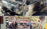 Comuneros de Cajatambo incendian camión de abigeos
