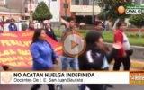 Docentes de I. E. San Juan Bautista  no acatan huelga indefinida