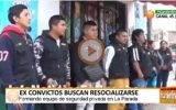 Ex reclusos forman empresa de seguridad y vigilancia en Huacho