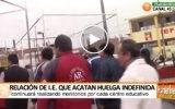 Relación de I.E.en Huaral  que acatan huelga indefinida