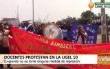 Se agudiza la huelga indefinida de los maestros en Huaral y a nivel nacional