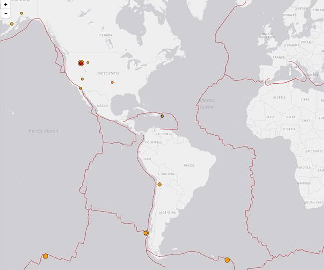 Ultimos terremotos